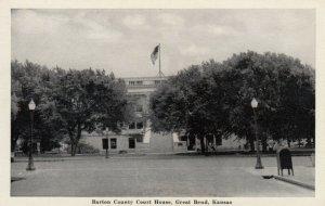 GREAT BEND, Kansas, 1930s; Barton County Court House