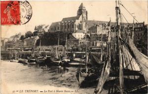 CPA LE TRÉPORT Le Port a marée basse (415873)