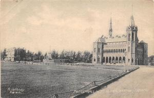 Pakistan Frere Hall with Queen Statue, R. Jallbhoy