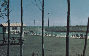 ROBERVAL, Quebec, Canada, PU-1985; Piscine Du Mont Plaisant