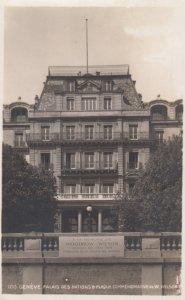 RP: Palais Des Nations Geneve , Switzerland , 1927