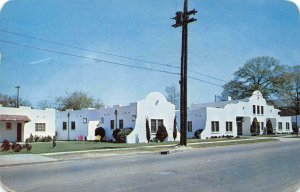 PLAZA HOTEL COURT Columbus, Georgia Roadside 1951 Vintage Postcard