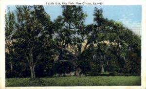City Park  New Orleans LA Unused