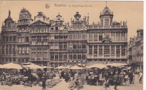 La Grand' Place, BRUXELLES, Belgium, 1900-1910s