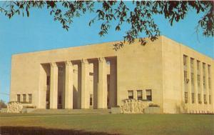Jackson Mississippi~War Memorial Building (Built 1939-40)~1960s Postcard