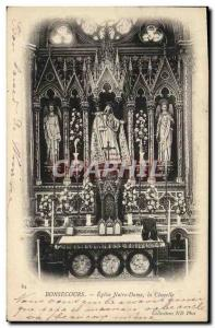 Old Postcard Bonsecours Church Our Lady Chapel