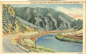 Jefferson Canyon near Mountain View Inn, Lahood Park, Mon...