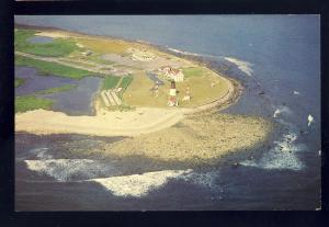 Narragansett Pier, Rhode Island/RI Postcard, Point Judith Lighthouse/Light