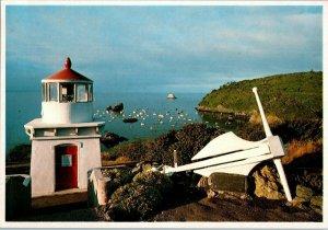 Trinidad Faro Carretera 101 Eureka California Tarjeta Postal
