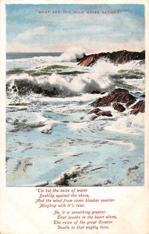 What Are the Wild Waves Saying? 1906