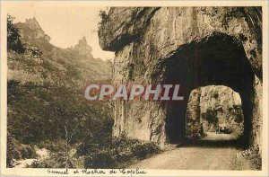 Old Postcard Tarn Gorges A Tunnel Rock Capluc