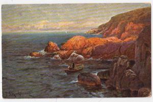 Ocean Scene by P. Schreck-hasse