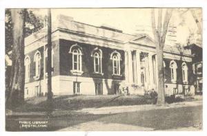 Exterior,Public Library,Bristol,Connecticut,PU-00-10s