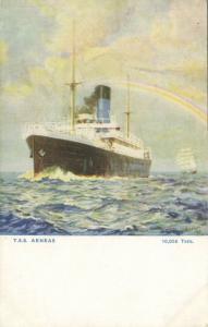 The Blue Funnel Line Steamer T.S.S. Aeneas (1920s)