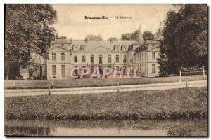 Old Postcard Ermenonville Chateau
