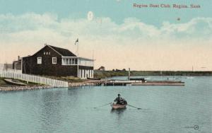 REGINA , SAsk. ,1900-10s ; Regina Boat Club
