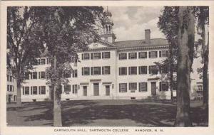New Hampshire Hanover Dartmouyh Hall Dartmouth College Albertype