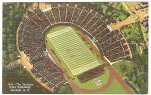 Aerial View, The Stadium, Duke University, Durham, North Carolina, 30-40s