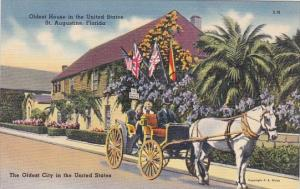 Florida Saint Augustine Oldest House In The United State Oldest City In The U...