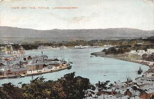 Northern Ireland Londonderry, View on the Foyle 1928
