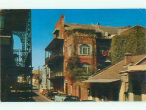 Pre-1980 OLD CARS & HOUSES ON STREET New Oleans Louisiana LA n0994