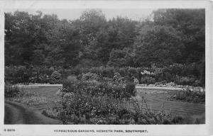 Herbaceous Gardens, Hesketh Park Southport