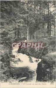 Old Postcard Gerardmer The Cascade Tanks Skipping