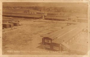 Emmett Idaho Boise Fayette Lumber Co Mills Real Photo Vintage Postcard KK200