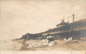 F70/ Cleveland Ohio RPPC Postcard 1906 Euclid Beach Amusement Park Bat House