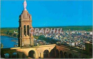 Modern Postcard Oran Vue Generale of the Church of Santa Cruz