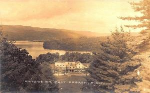 East Hebron NH Hillside Inn Eastern Illustrating RPPC Postcard