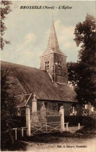 CPA  Broxeele (Nord) - L'Église  (513270)