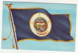 P75 JLs postcards minnesota state flag w/1858 date