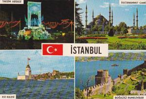 Turkey Istanbul Multi View Greetings From
