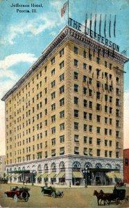 Illinois Peoria The Jefferson Hotel 1921