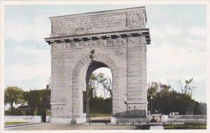 KINGSTON, Ontario, Canada, 1900-1910's; War Memorial, Royal Military College