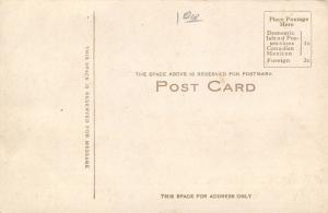 Menominee Michigan~Menominee River Paper Mill Factory~Smokestack~1907 B&W PC