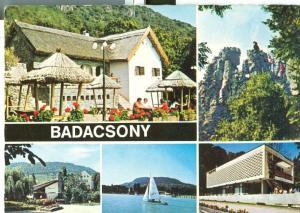 Hungary, Badacsony, 1975 used Postcard