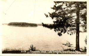 MN - Grand Rapids. Lake Pokegama, Drumbeter Island - RPPC