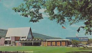 The Luxurious Main Building at The Fernwood, The Gold Room Restaurant, Pocono...