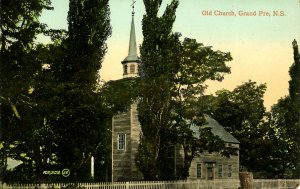 Canada - Nova Scotia, Grand Pre. Old Church