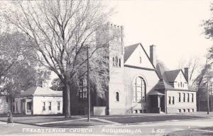 RP: AUDOBON, Iowa, 1930-50s; Presbyterian Church