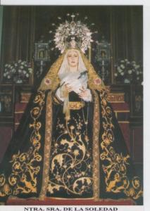 Postal 013774: Virgen Nuestra Se?ra de la Soledad