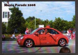 ME Volkswagen Bug VW Moxie Festival Parade Soda LISBON FALLS MAINE Postcard