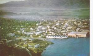 JAMAICA; Aerial View of Mantego Bay,  40-60s