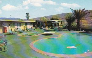 The Little Admiral Inn Pool Desert Hot Springs California