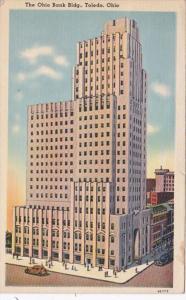 Ohio Toledo The Ohio Bank Building 1941