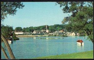 New Hampshire ~ LAKE WINNIPESAUKEE Meredith Bay and Village 1950s-1970s