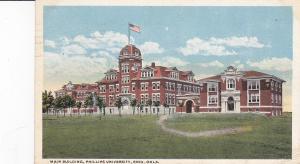 ENID, Oklahoma; Main Building, Phillips University, PU-1919