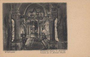 Wieliczka Jan Kaplick Polish Architect Przedsionek Antique Postcard